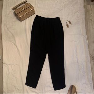 JCrew black label > black jogger size 0